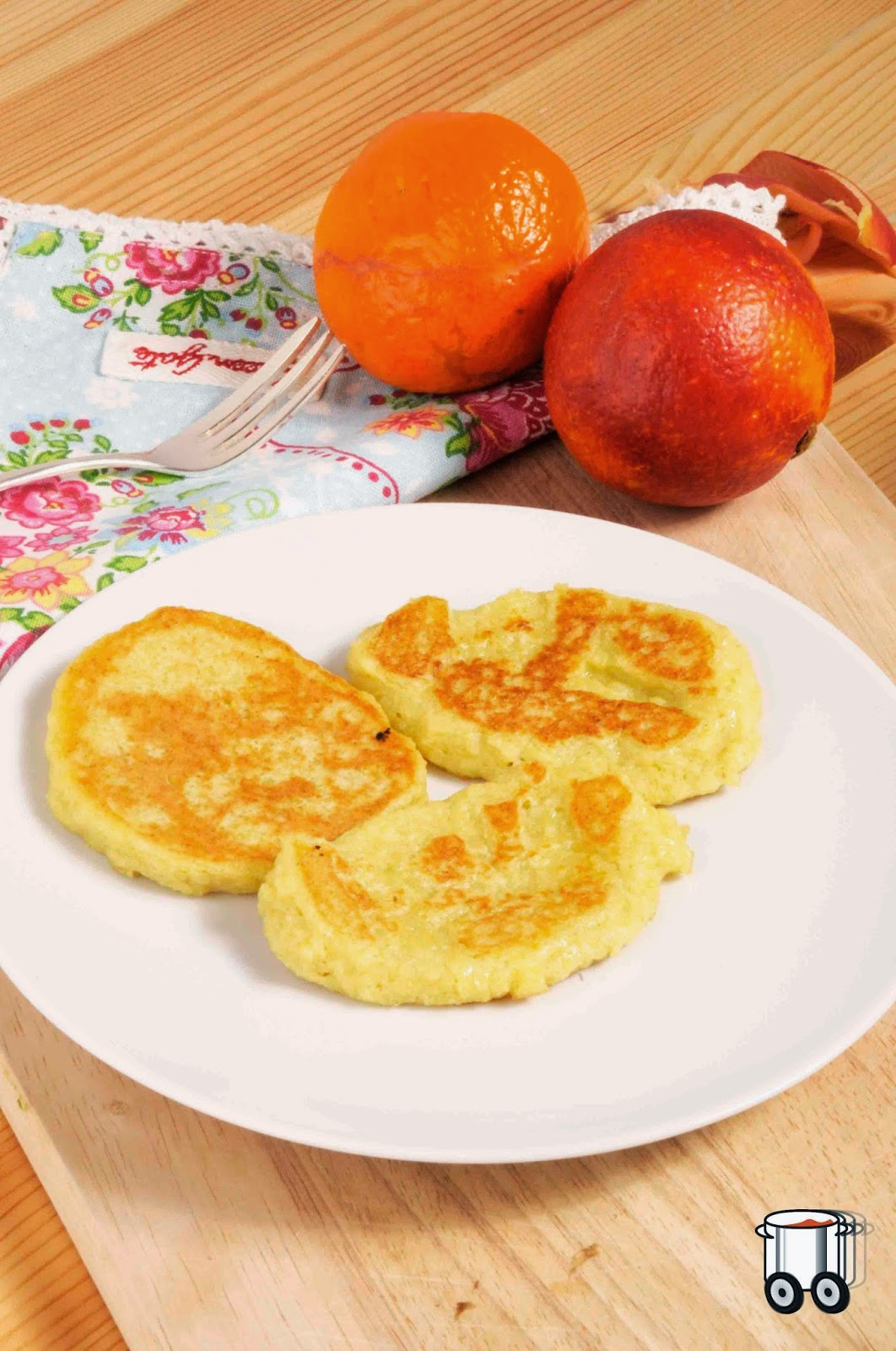 Szybko Tanio Smacznie - Śniadaniowe placuszki z kaszy jaglanej i jabłka (bez glutenu, bez laktozy)