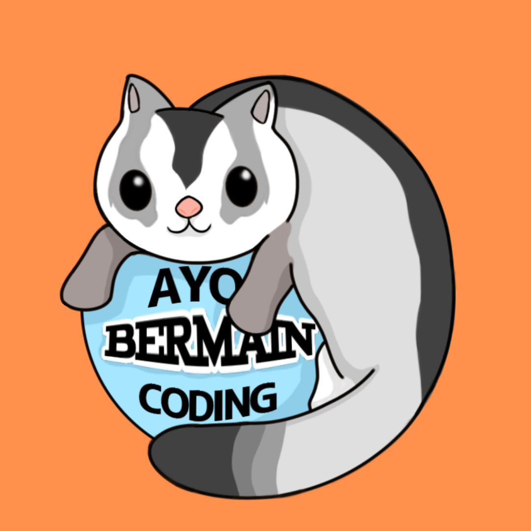 Follow @ayobermaincoding