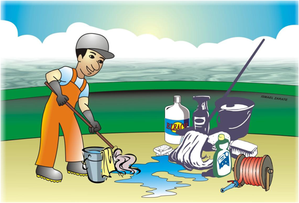 Ing de flotas for Limpieza y desinfeccion de equipos