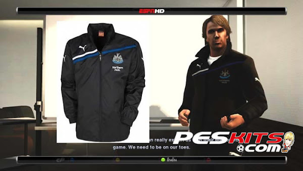 PES 2012 Newcastle Training Kits by DAMN
