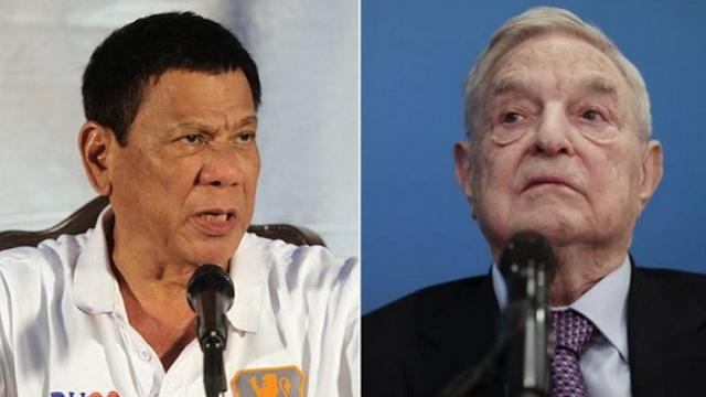 Ο Σόρος ανεπιθύμητος στις Φιλιππίνες: «Αν έρθεις υπάρχει αμοιβή για το κεφάλι σου εδώ»! (vid)