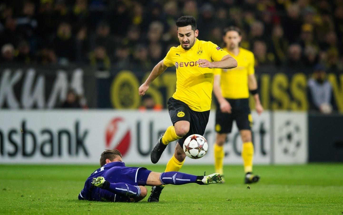 Liga Champions : Borussia Dortmund 1-1 Anderlecht