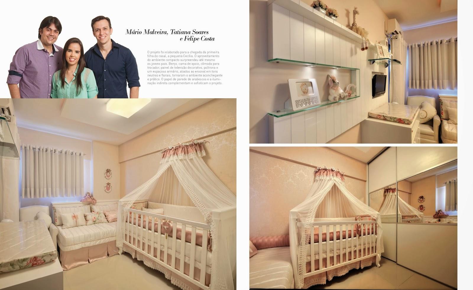 Armario De Parede Para Quarto De Bebe : Inmense arquitetura projeto quarto de beb? feminino
