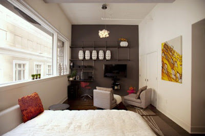 Small Studio Apartment Design Ideas