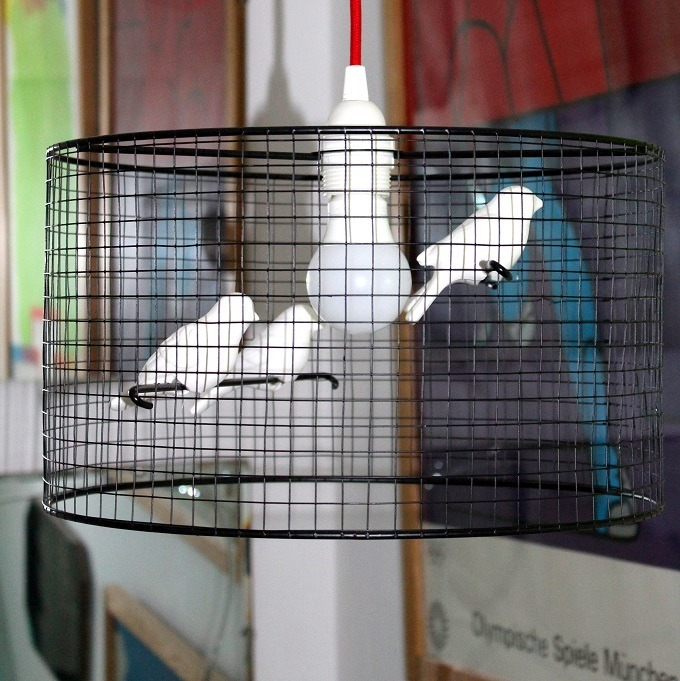 Iconic lights bird cage lamp shade our house lazy daisy jones iconic lights bird cage lamp shade our house aloadofball Image collections
