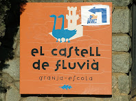 Anagrama de la Granja Escola Castell de Fluvià