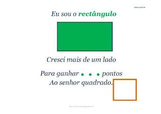 retangulo | formas geometricas