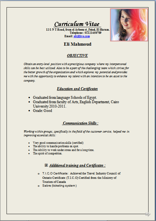 fresher doctor resume