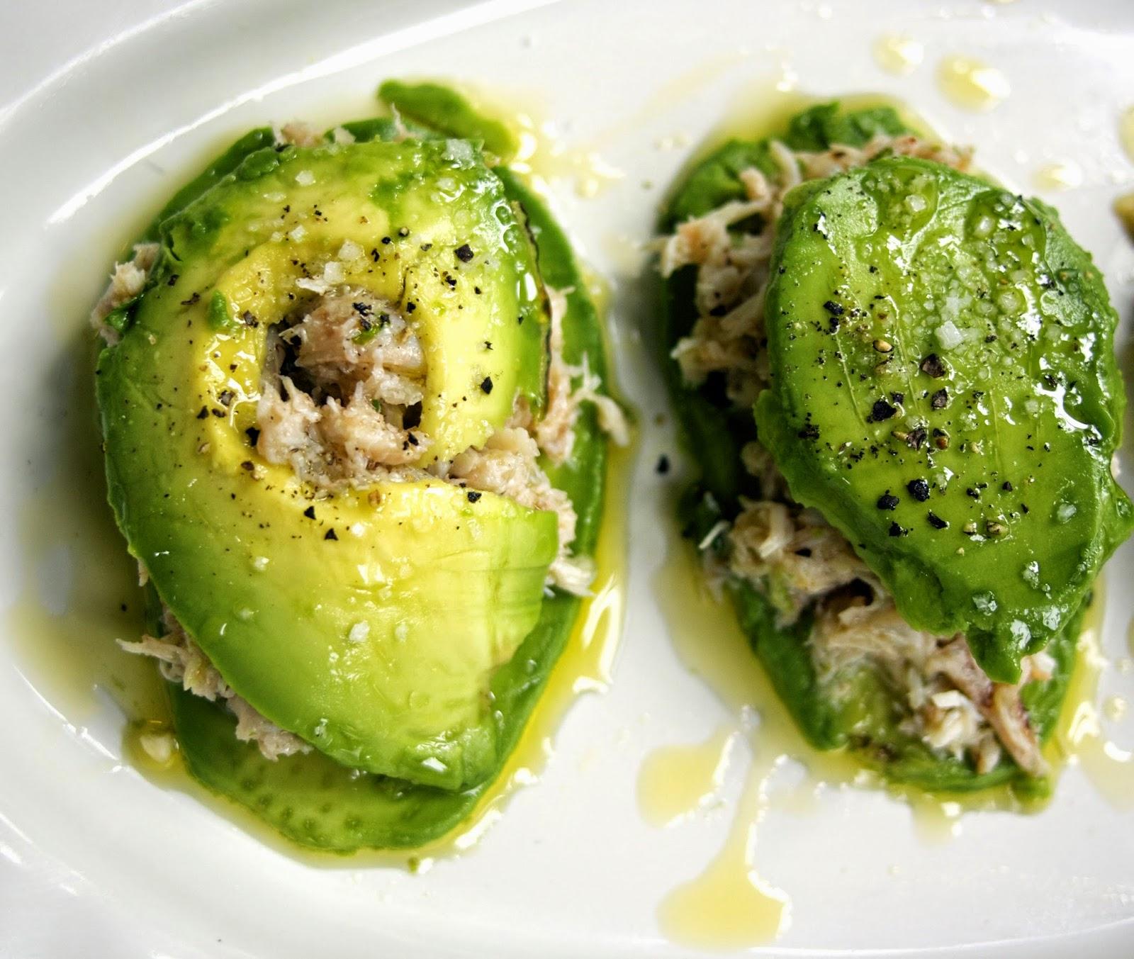 Crab Avocado Ravioli