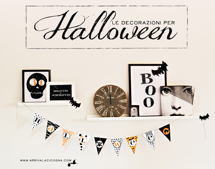 idee decorazioni di Halloween