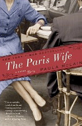 Book cover of The Paris Wife by Paula McLain (historical fiction)