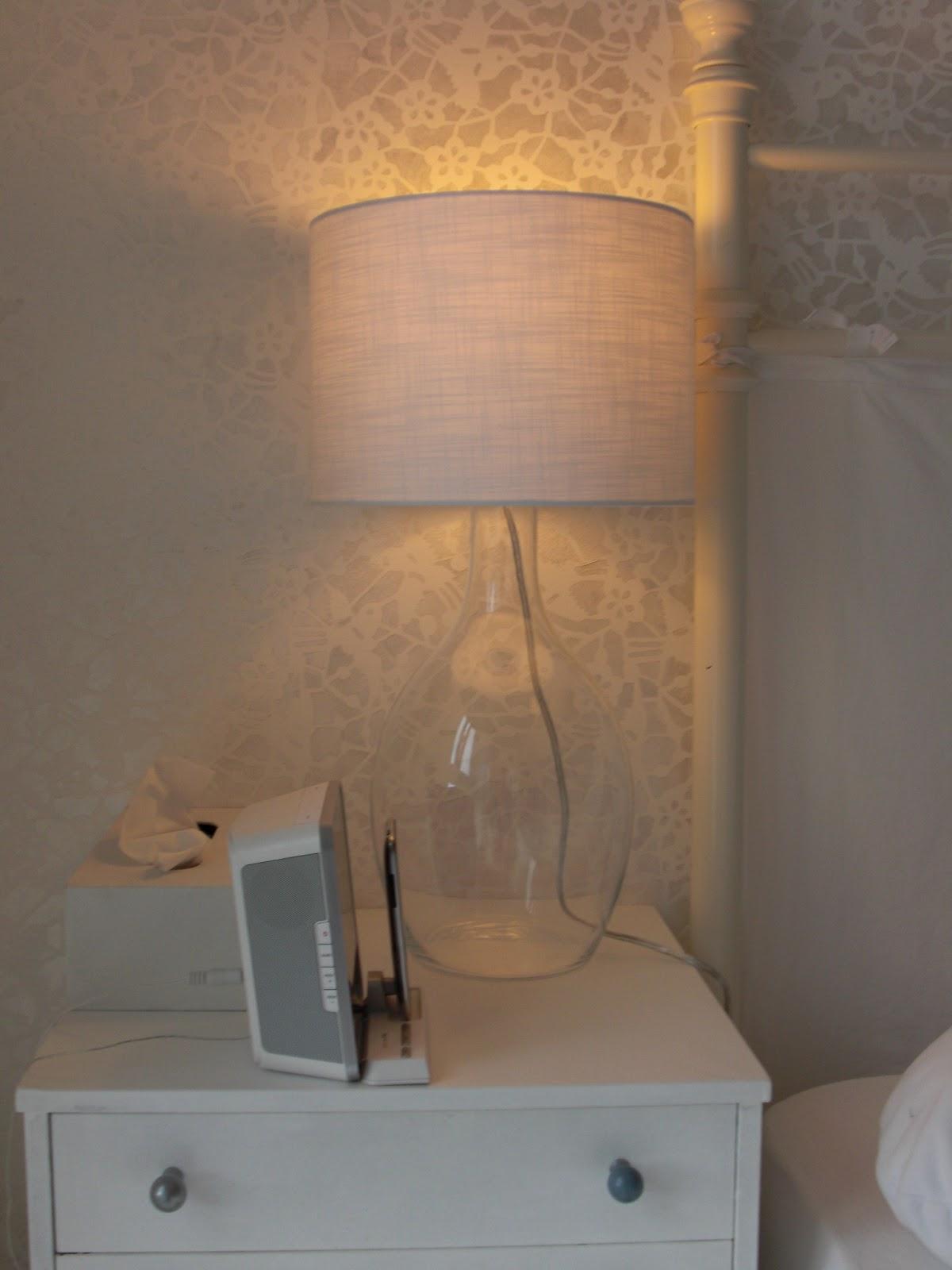 heim elich 15 25 diy glas nachtischlampen. Black Bedroom Furniture Sets. Home Design Ideas