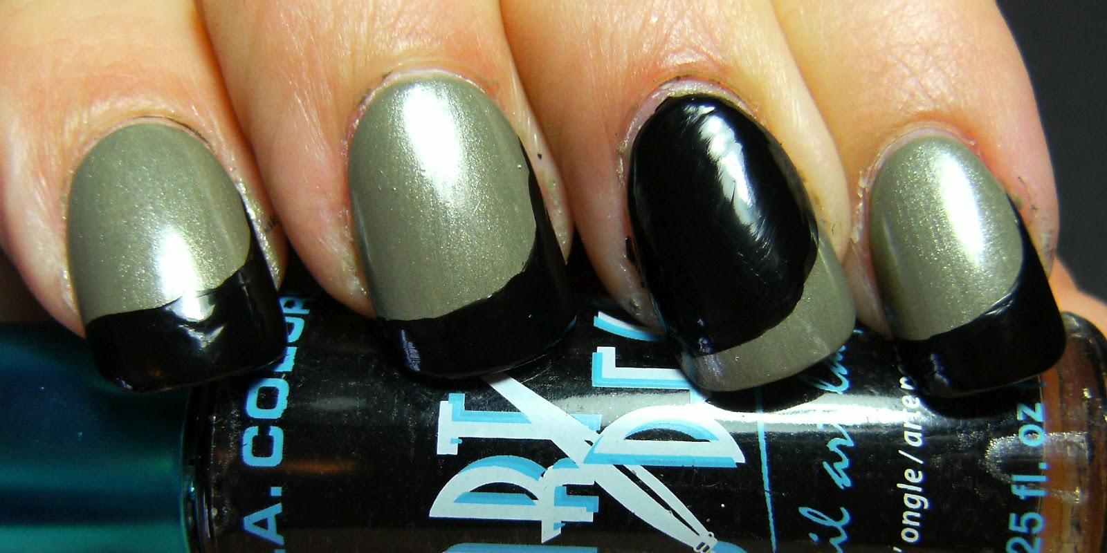 Deez Nailz: Essence High Spirits with LA Colors Stripe ...