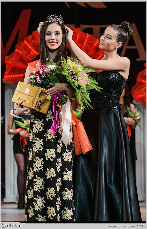 Тамбов, фото, Юрий Солотин, конкурс красоты, победительница, победитель