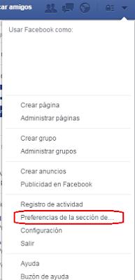 Como personalizar Inicio Facebook