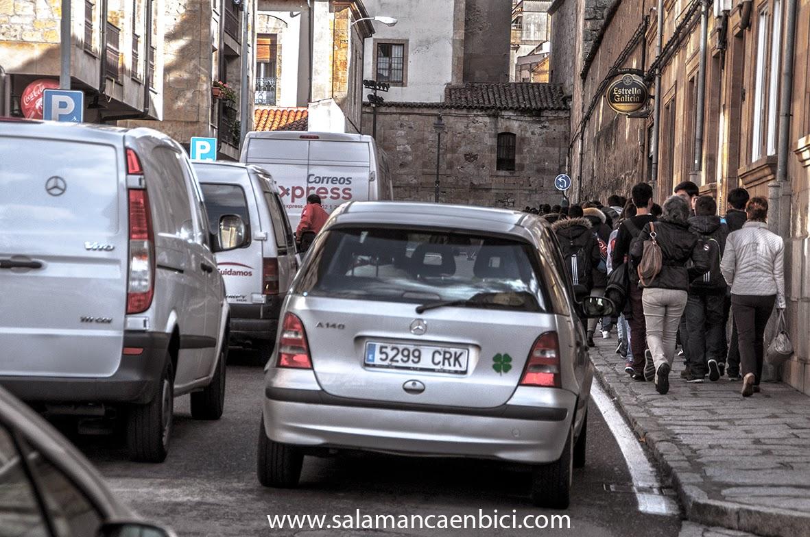 calle ancha bici salamanca