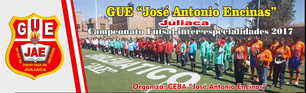 GUE JAE futsal inter especialidades 2017