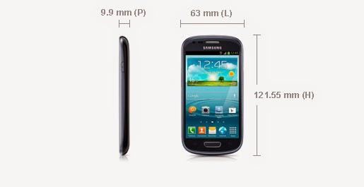 Smartphone Samsung Galaxy S3 Mini Blanc I8190