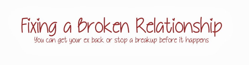 Fixing a Broken Relationship