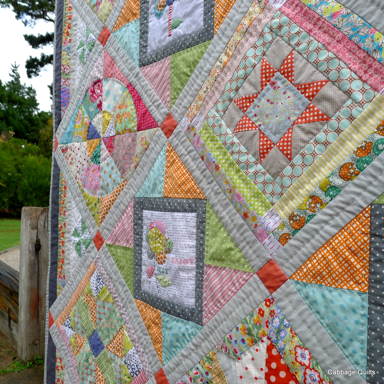 Cabbage Quilts New Block Of The Month