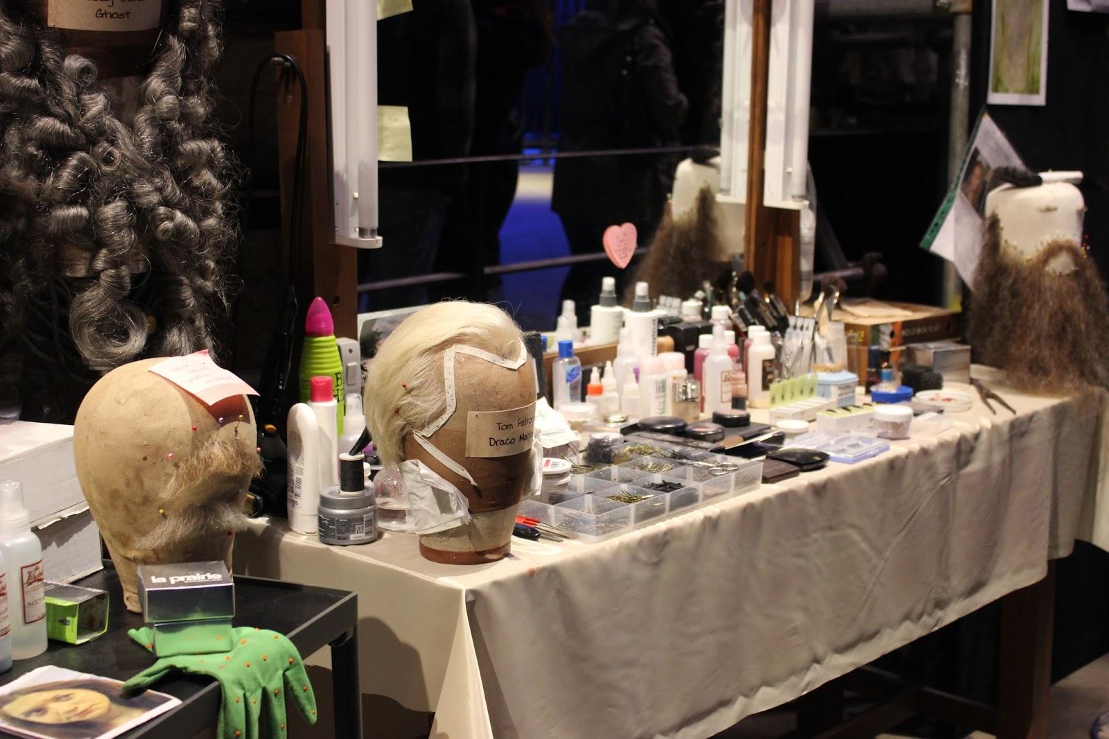 Harry Potter studio tour london hair and makeup