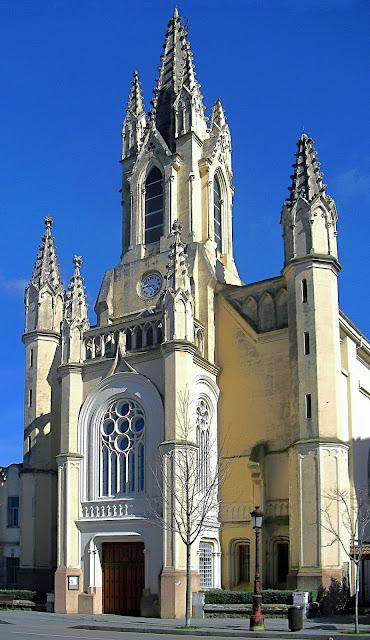 iglesia de la Inmaculada en Santander