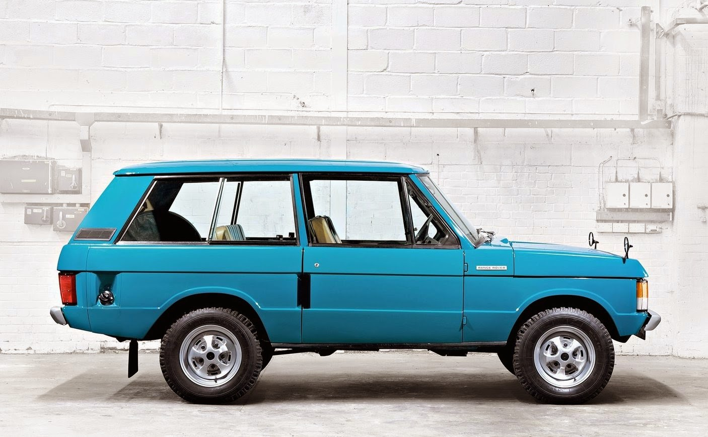 Range Rover Classic three door
