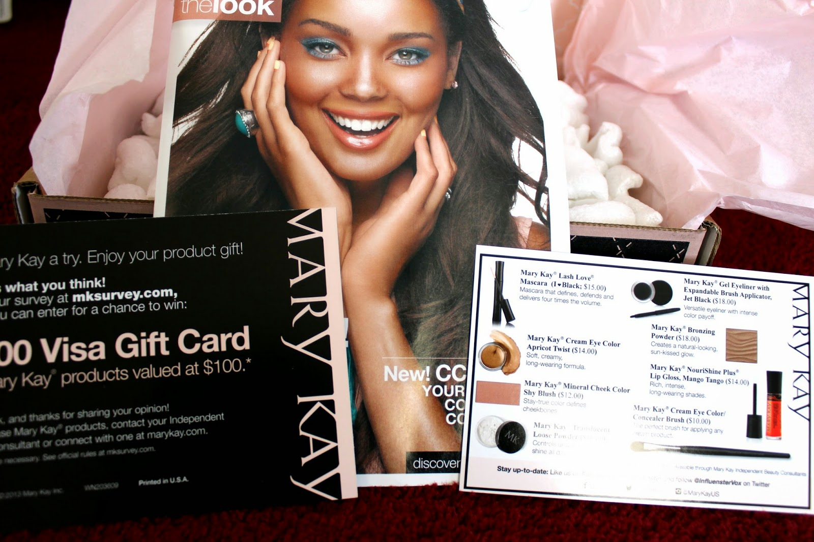 Influenster Mary Kay Voxbox