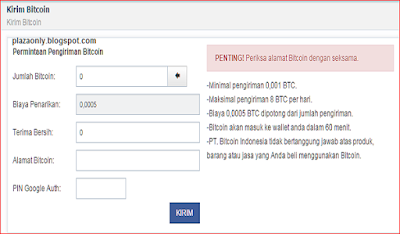 Cara Mendaftar di vip.bitcoin.co.id
