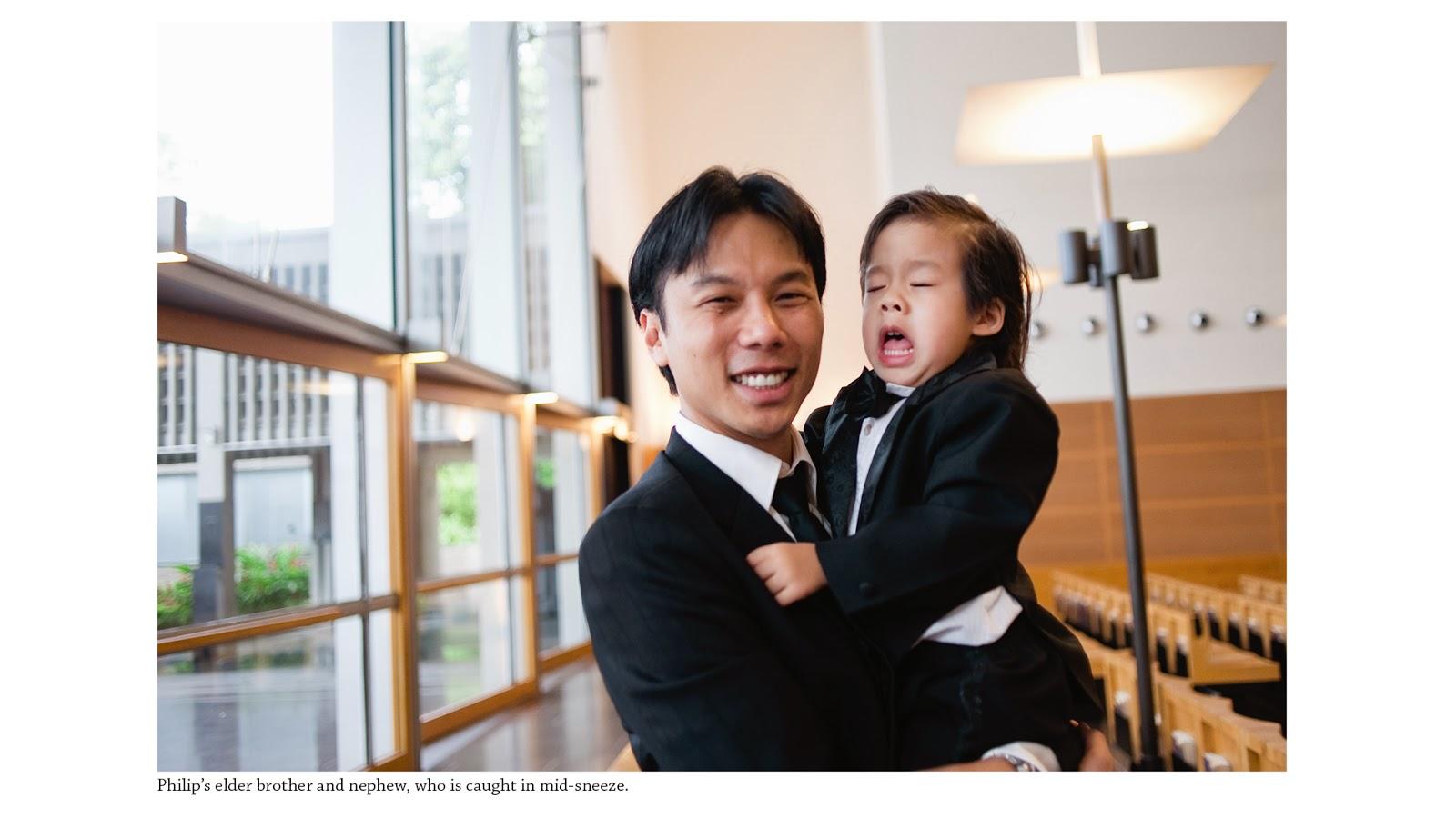 wedding photography singapore sentosa nephew