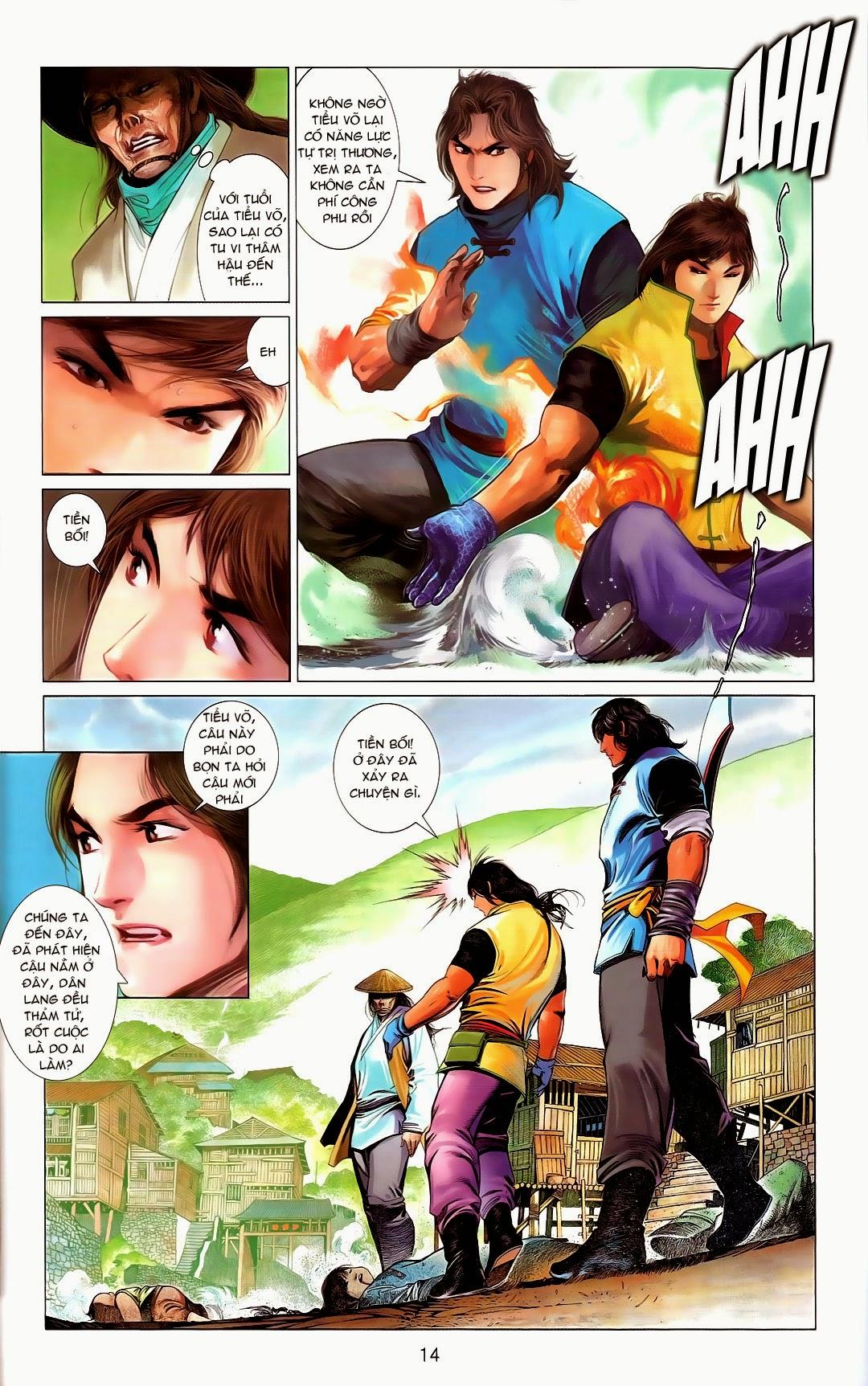 Phong Vân chap 669 Trang 14 - Mangak.info