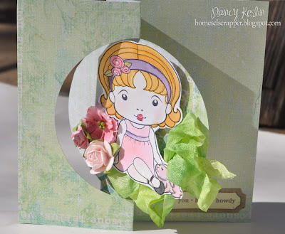 sizzix, card, die cut, prima