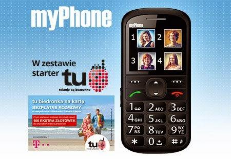 Telefon komórkowy myPhone 1075 z Biedronki