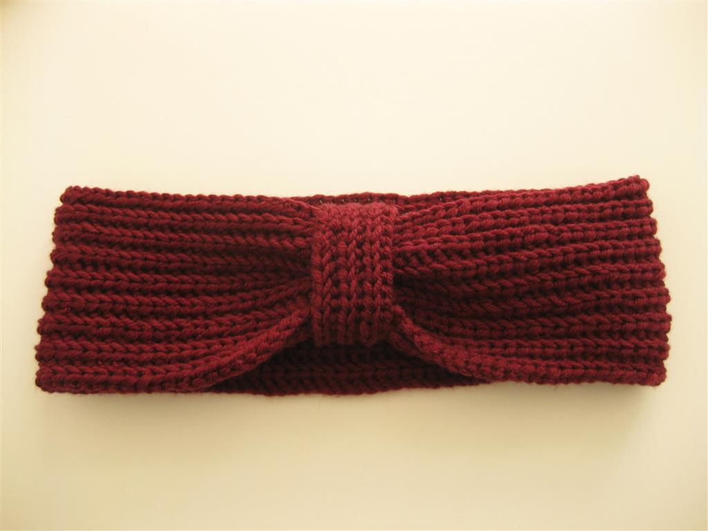 Amazing Häkelarbeitwinter Stirnband Muster Image - Decke Stricken ...