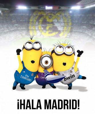 Minions hinchas Real Madrid - Futbol Parodia
