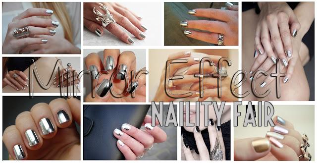 Naility fair effetto specchio per unghie vanitose - Polvere effetto specchio unghie ...