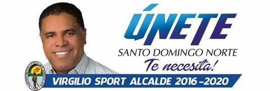 ÚNETE A VIRGILIO SPORT ALCALDE  2016, SANTO DOMINGO NORTE