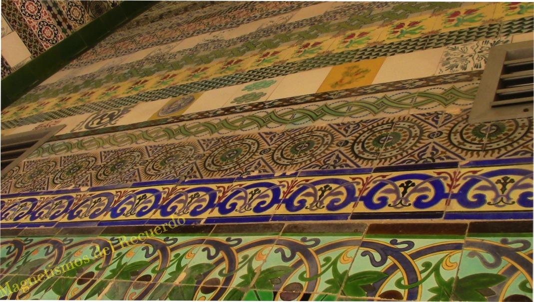 Magnetismos del recuerdo la cartuja de sevilla i for Muestrario de azulejos