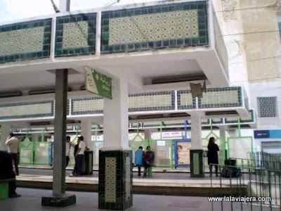 Estacion Tren TGM Tunez