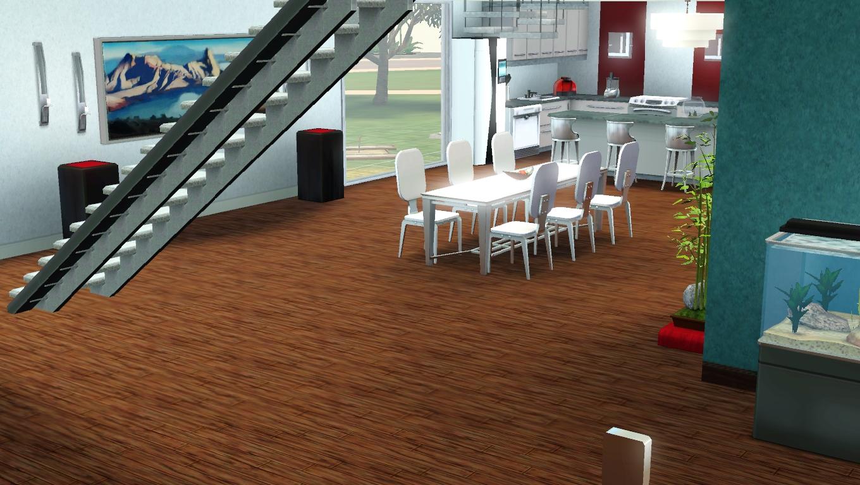 Cuisine moderne sims 4 for Sims 3 salon moderne