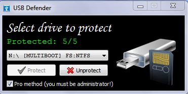 protect your usb drive from autorun viruses