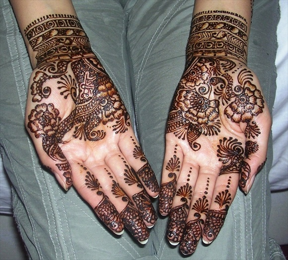 henna patterns simple
