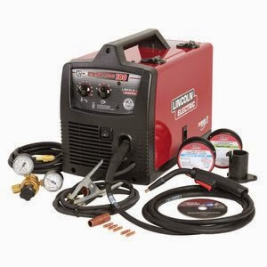 Lincoln Electric K2698-1 230V Flux Cored MIG Welder Review
