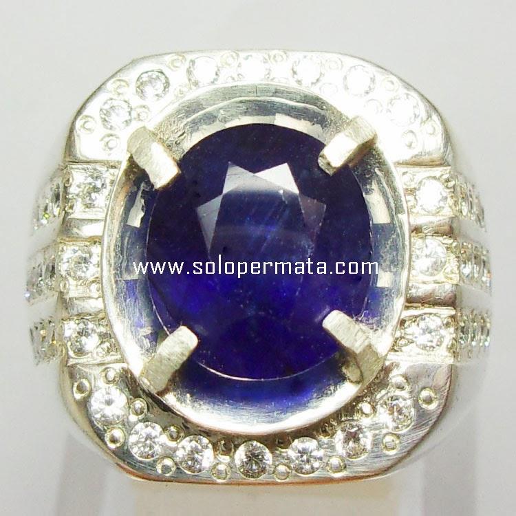 Batu Permata Royal Blue Sapphire 27A12