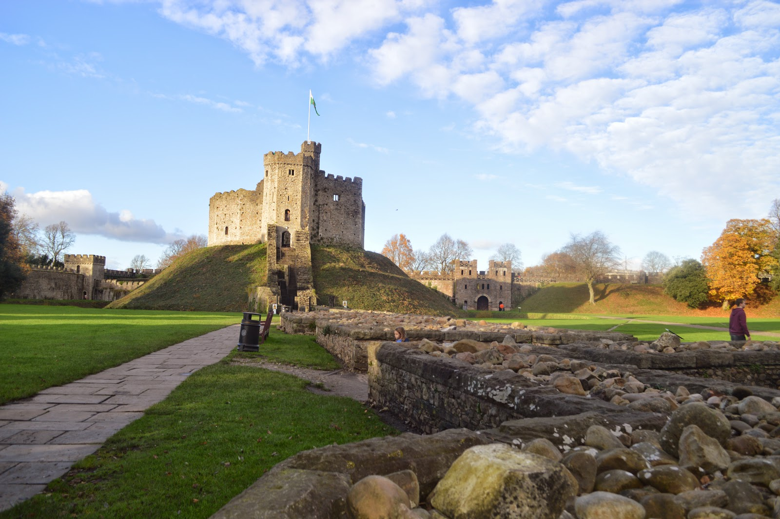 Cardiff Castle and Keep Wales