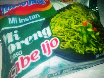 Indomie Cabe Ijo