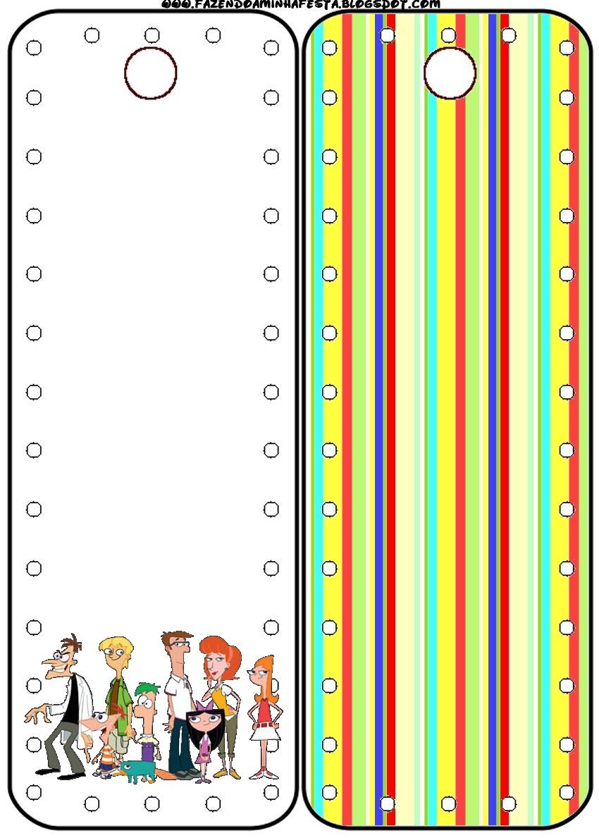 Phineas y Ferb: tarjetería para imprimir gratis. - Ideas y ...