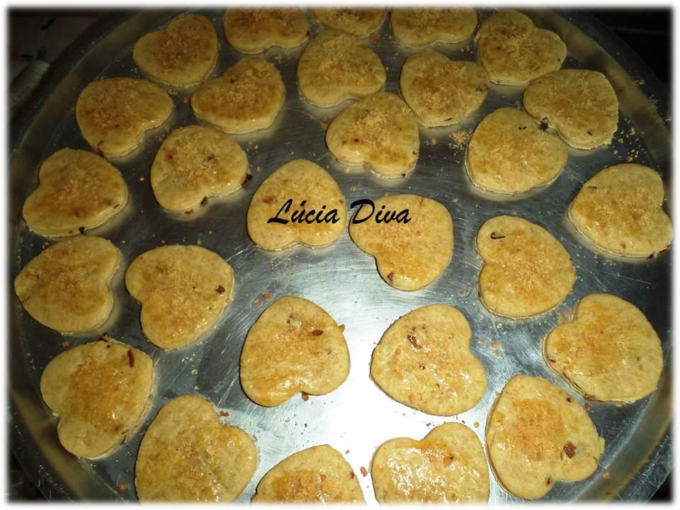 Amado vida doçura : Biscoitos amanteigados salgados VO71