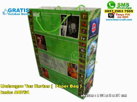 Undangan Tas Kertas / Paper Bag