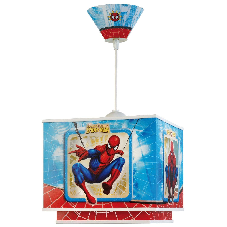 Decken und Wandleuchten: Dalber 63602 Hängeleuchte Spiderman ...